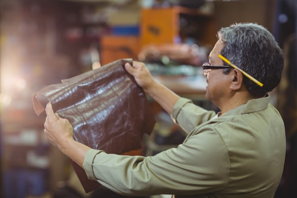 Borates in leather manufacturing